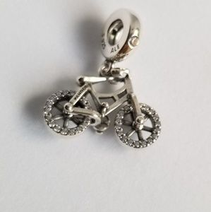 Pandora Brilliant Bicycle Dangle Charm Silver
